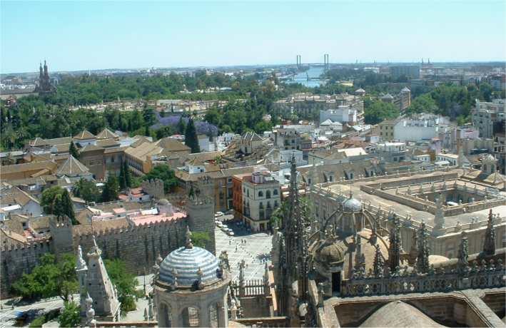 Ville de s ville arts et voyages - Seville hotel piscine ...